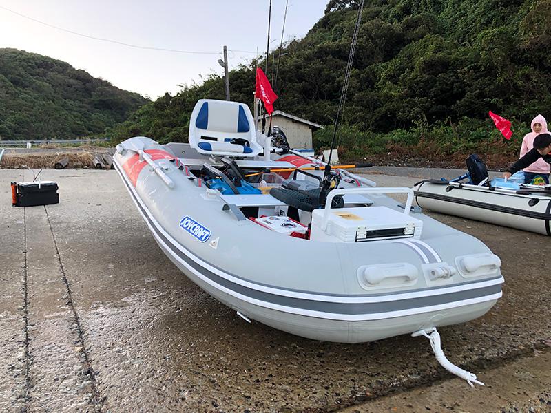 ゴムボート釣行 in 浜田