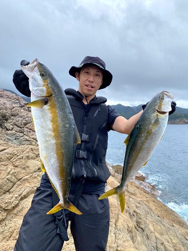 わたなべ釣具スタッフ釣行「ショアジギング 沖磯」