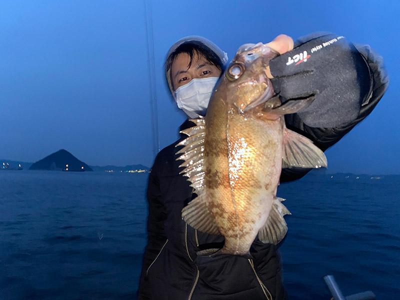 わたなべ釣具スタッフ釣行「ボートメバリング釣行」