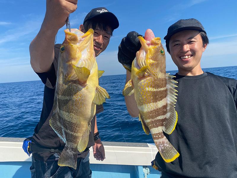 日本海 泳がせ・のませ釣行